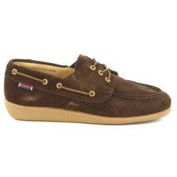Sebago Jobson Docksides Dark Brown Suede