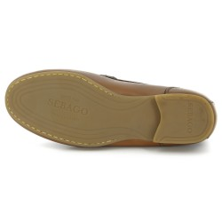 Sebago Trenton Penny Tan Leather