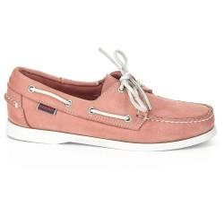 Sebago Docksides Dames Pink Nubuck