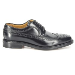 Sebago Seabury Black (Leather Sole)