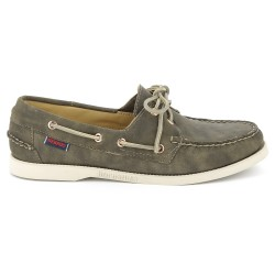 Sebago Docksides Dames Sage Leather