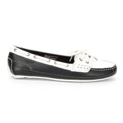 Sebago Bala Black/White