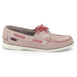 Sebago Docksides Dames Light Purple Nubuck