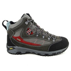 Berghen Bornand Waterproof Anthracite/Red