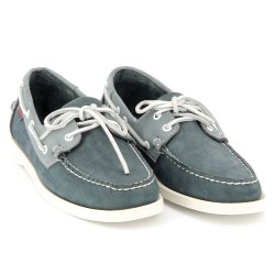 Docksides Navy/Grey Nubuck