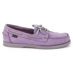 Sebago Docksides Light Purple Nubuck