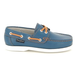 Berghen Portland Leather Royal/Orange