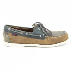 Sebago Spinnaker Grey/Brown/Navy Leather