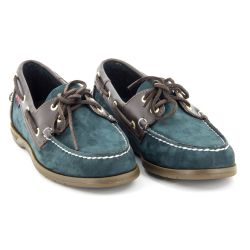 Sebago Endeavor Navy Nubuck/Brown Leather