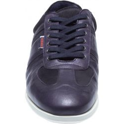 REID LACE UP NAVY LEATHER/SUEDE