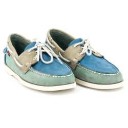 Spinnaker Blue/Teal/Grey Nubuck