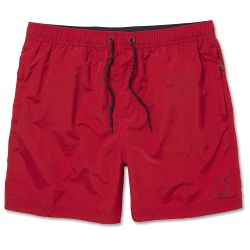 Waldo Packable Swim Shorts Red