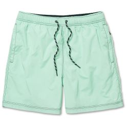 Waldo Packable Swim Shorts Ocean Wave