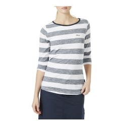 Megan Striped Jumper Navy/White