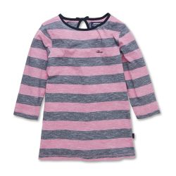 Megan Striped Jumper Navy/Pink