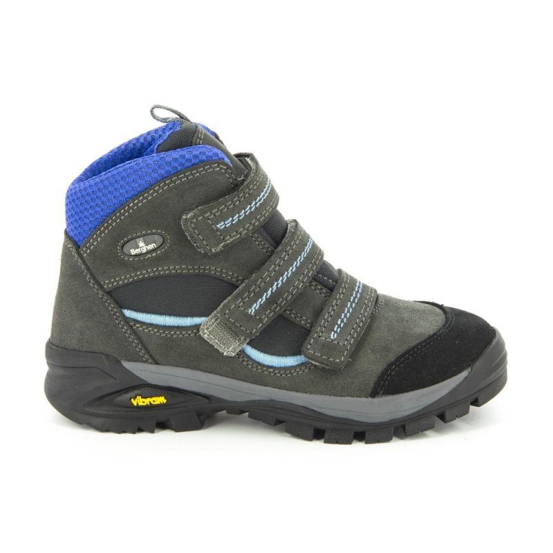 Sarezzo Randonnée Anthraciteblue Chaussures Berghen De Velcro vgqn8fx