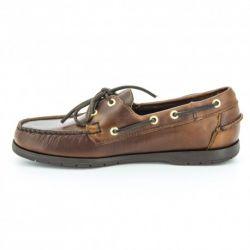 Sebago Endeavor Brown Oiled Waxy Leather