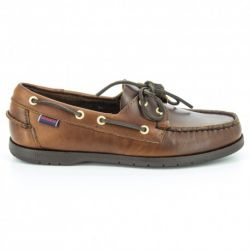 Sebago Endeavor Brown Oiled Waxy Leather