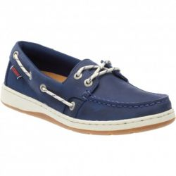 Maleah 2 eyes Navy Leather
