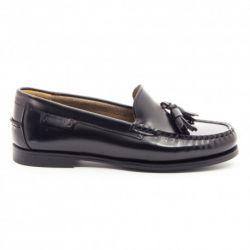 Sebago Plaza Tassel Black Leather