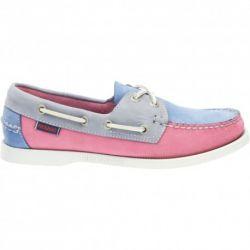 Sebago Docksides Limited Edition Blue/Pink/Grey