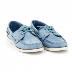 DOCKSIDES Light Blue Nubuck