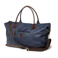 Sebago Big Canvas Dufflebag Navy