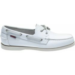 Docksides White/White