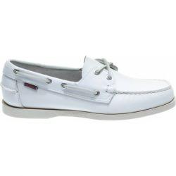 Sebago Docksides White/White