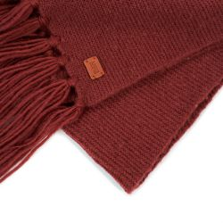 GARTERSCARF DARK ERABLE