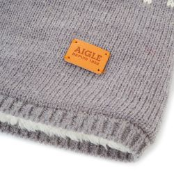 LOFOTYBEANIE HEATHER GREY