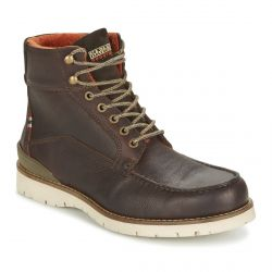 TRYGVE Leather Dark brown