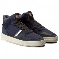 NESTOR Leather/Suede/Nylon Blu