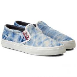 ERIN Textile Batik blue