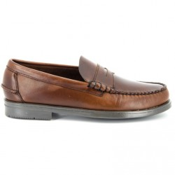 Sebago Grant Brown Oil Waxy