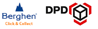 Livraisons via Berghen click & Collect - DPD